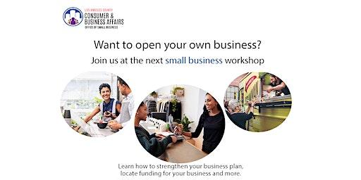 San Gabriel Library Small Business Workshop