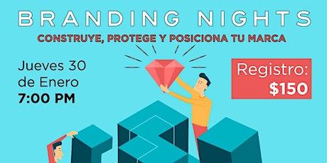 Branding nights boletos