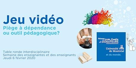 Jeu vidéo : piège à dépendance ou outil pédagogique? tickets