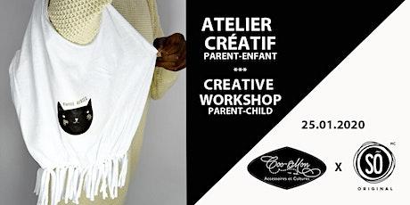 Atelier créatif Parent-Enfant/Parent-child creative workshop tickets