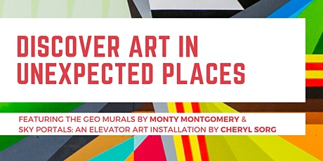 Discover Art in Unexpected Places tickets