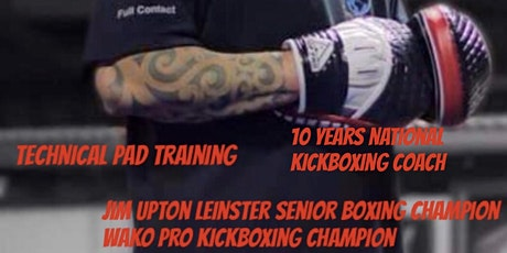 Boxing Pads seminar  tickets