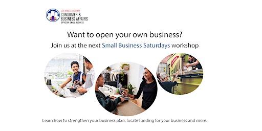 Small Business Saturday Workshop
