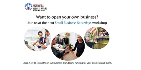 Duarte Library Small Business Saturday Workshop tickets