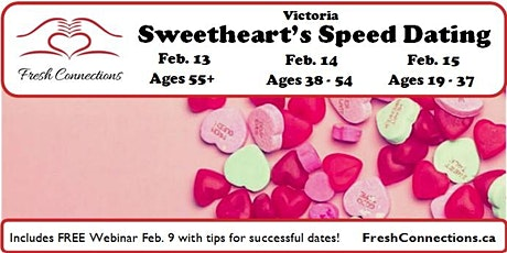 Sweetheart's Speed Dating in Victoria tickets