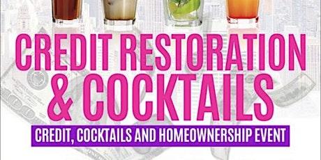 DC Credit Restoration & Cocktails tickets