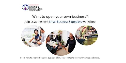 Sorensen Library Small Business Saturday Workshop