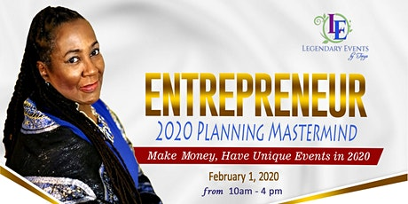 Planning 2020 Mastermind - Feb. 1, 2020 tickets
