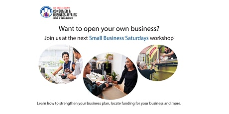 Compton Library Small Business Saturday Workshop tickets