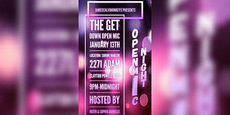 The Get Down Open Mic tickets
