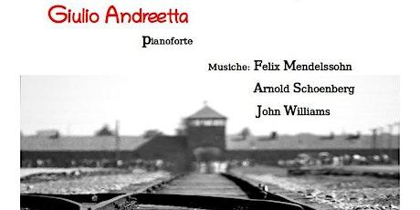 Giulio Andreetta a Villafranca Padovana per la Giornata della Memoria biglietti