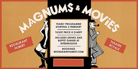 Dirty Rotten Scoundrels - Magnums and Movies tickets