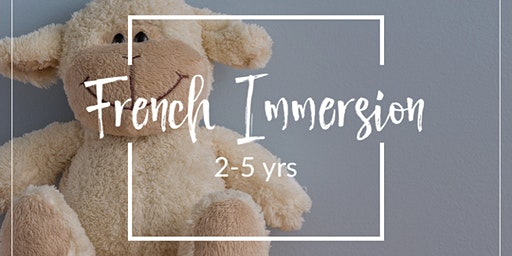 French Immersion Play-based School (2-5 yrs)