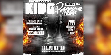 THE PISCES KING AND QUEEN BALL ALL BLACK AFFAIR tickets