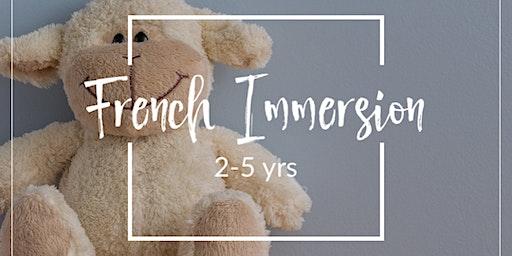 幼儿法语启蒙班 (2-5yrs)