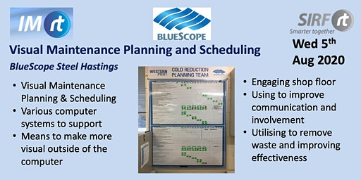 VICTAS Visual Maintenance Planning and Scheduling - BlueScope Hastings