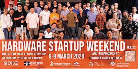 Arc & Techstars Hardware Startup Weekend March 2020 tickets