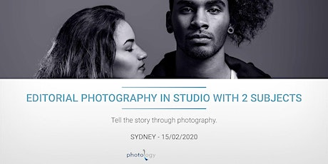 Editorial Photography in Studio with 2 Subjects - 15/02/2020 - Sydney tickets