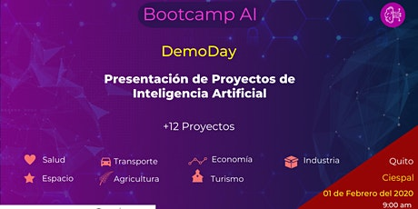 Demo Day - Bootcamp AI entradas
