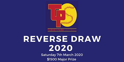 Turvey Park Softball Reverse Draw 2020