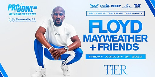 Floyd Mayweather & Friends Pro Bowl Pre-Party