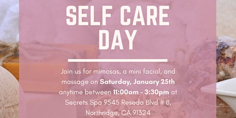 Self Care Day at Secrets Spa  tickets