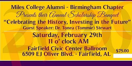Miles College Alumni - Birmingham Chapter Scholarship Gala tickets