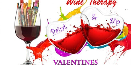 Wine Therapy - Valentine's Sip & Painting tickets