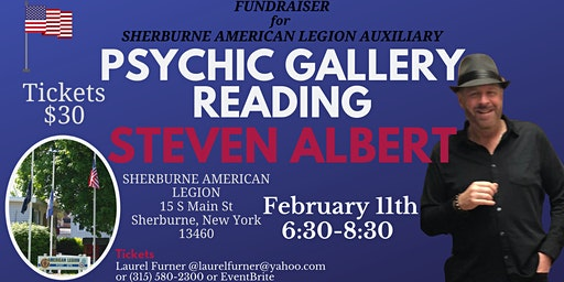 Steven Albert: Psychic Medium Gallery Fundraiser Event - 2/11