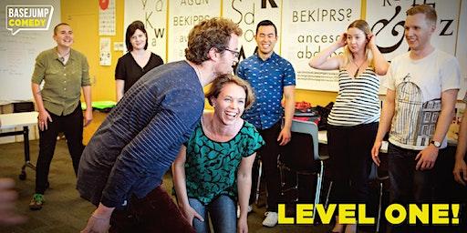 """Improv Comedy Level 1: """"Discover Improv!"""""""