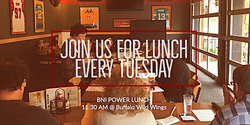 BNI Power Lunch: Join Us for Lunch w/ speaker Arsam Antreysian