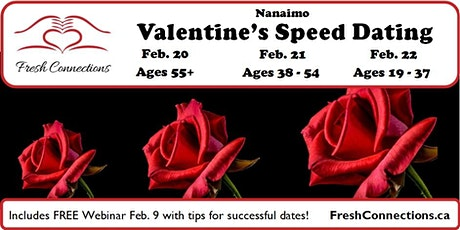 Valentine's Speed Dating in Nanaimo tickets