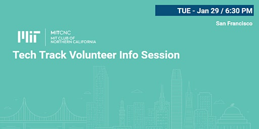 Tech Track Volunteer Info Session