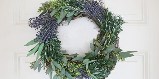 Wine, Sweets, and Lavender Wreaths