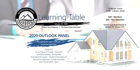Mortgage Loan Association of Alberta - 2020 Outlook Panel tickets