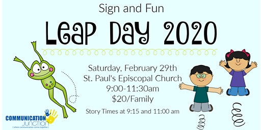 Sign and Fun - Leap Day 2020