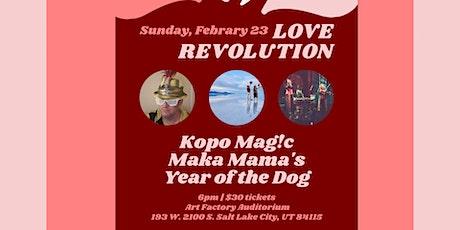 Love Revolution tickets