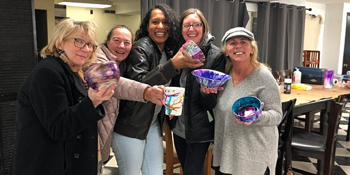 Alcohol Ink Bowl/Mug Painting Workshop