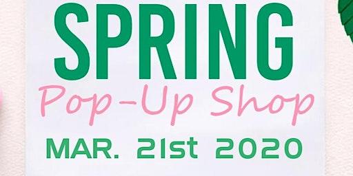 Spring Pop-up Shop