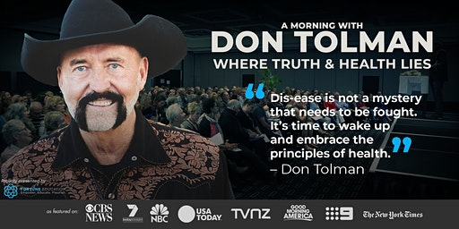 Don Tolman WHERE TRUTH & HEALTH LIES: Gold Coast