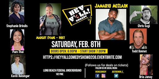 Hey Y'all Comedy Show
