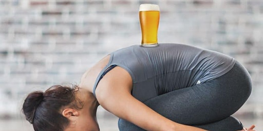 Beer Yoga at the Rec Room