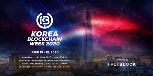 Korea Blockchain Week 2020