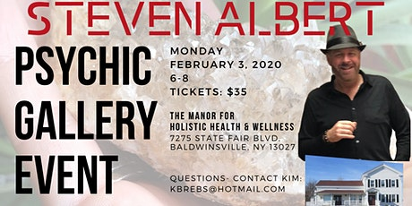 Steven Albert: Psychic Gallery Event - The Manor 2/3 tickets