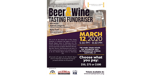 KAI 4th Annual Beer & Wine Tasting Fundraiser