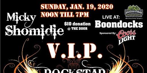 Micky's VIP Rockstar Fight For Life Fundraiser