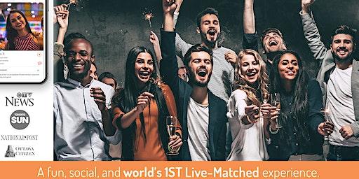 World's 1st Live-Matched Singles Valentine's Games | 28-43 y | Secret RSVP
