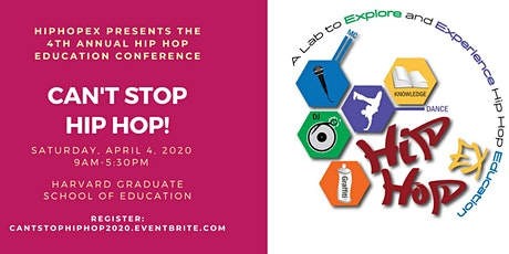 HipHopEX Presents: Can't Stop Hip Hop 2020 tickets