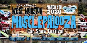 "6th Annual ""Musclepalooza"" Car Show Festival presented..."