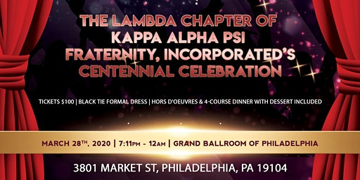 Lambda Chapter Centennial Celebration & Scholarship Ball